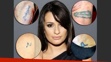 Lea Michele: espiá sus tatuajes y cuál es su simbología