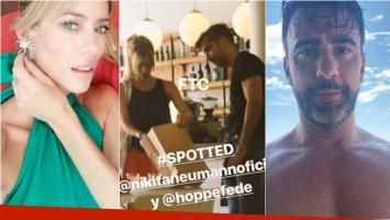 De Brito apuró a Nicole Neumann y Federico Hoppe: ¿Romance o reunión de trabajo?