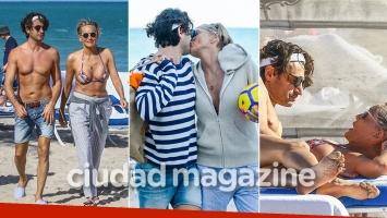 Sharon Stone, apasionada y a los besos con su nuevo novio, un inversor italiano 19 años menor. Foto: Grosby Group