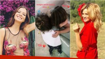 La foto súper tierna de las hijas de la China Suárez y Paula Chaves: Desde hace 4 años