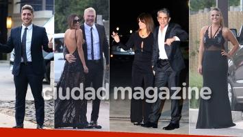 Los looks de los famosos en la gran boda de Dalma Maradona: ¡espiá las fotos exclusivas!
