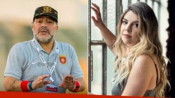 La palabra de Maradona, tras su faltazo a la boda de Dalma.