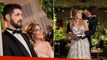 La divertida perlita para solteros y solteras en la boda de Dalma Maradona
