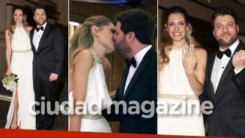 El casamiento de Guido Kaczka y Soledad Rodríguez. (Foto: Movilpress)