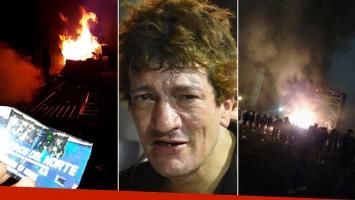 Pity Álvarez tardó siete horas en salir al escenario y los fans prendieron fuego el escenario