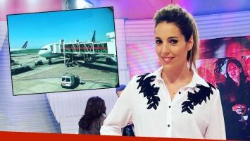 El trágico momento que vivió Noelia Antonelli en un avión a 10 mil metros de altura: En la mitad de la noche,...