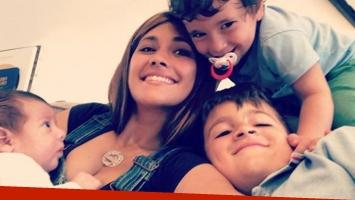 La selfie súper tierna de Antonela Roccuzzo junto a Thiago, Mateo y Ciro: Tardes con ellos