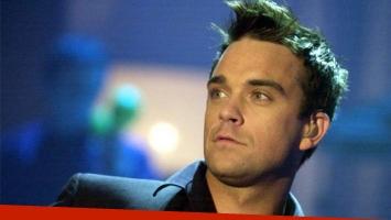 Robbie Williams y su esposa fueron denunciados por acoso.