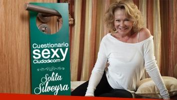 Solita Silveyra aceptó al desafío del Cuestionario Sexy de Ciudad.com. Fuente: Ciudad.com