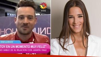 Chano Charpentier confirmó el romance con Juana Viale. (Foto: captura)