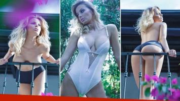 Erika Mitdank volvió al ruedo y mostró todo en una producción infartante para la revista Playboy. (Foto: Playboy Argentina)