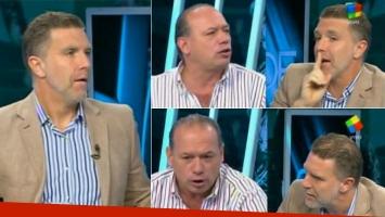 Alejandro Fantino volvió por un ratito a SDF.  (Fotos: Capturas TV)