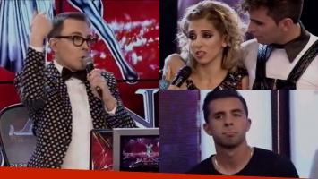 Marcelo Polino recordó la infidelidad de Matías Defederico en el debut de Cinthia Fernández en Bailando 2015. Foto: Captura
