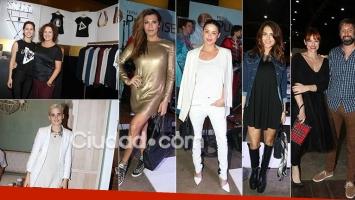 Los famosos en la Feria Puro Diseño. (Foto: Movilpress)