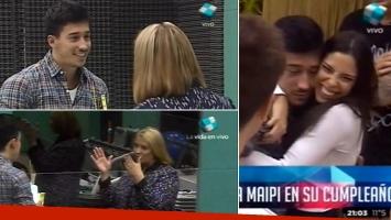 Nicolás conoció a la mamá de María Paz en GH 2015. (Foto: captura de TV)