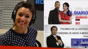 Tras la suspensión a Feinmann, Julia Mengolini conducirá El Diario: