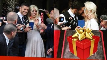 Mauro Icardi y Wanda Nara, un año de casados (Foto: Web e Instagram)