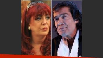 Silvia Peyrou volvío a afirmar que Cacho Castaña es el padre de su hijo. Foto: Web