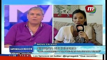 Silviana Escudero, molesta por una nota en su propia casa: