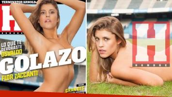 Las fotos hot de Florencia Zaccanti, la diosa que encandiló a Daniel Osvaldo