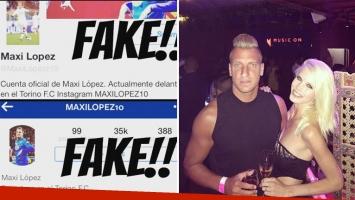El desubicado tweet de una cuenta falsa de Maxi López que le trajo problemas