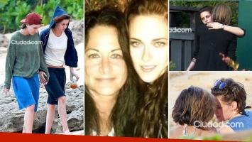 Jules, la madre de Kristen Stewart confirmó el romance de la actriz con Alicia Cargile. (Fotos: Ciudad.com)
