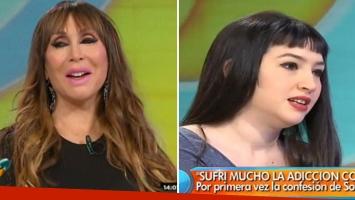 Moria Casán habló de la recuperación de Sofía Gala. (Foto: Web)
