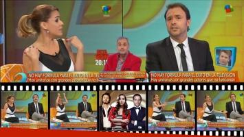 Marina Calabró y Pallares, picante cruce en vivo por Entre Caníbales. (Foto: captura)