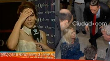 Cinthia Fernández contó los dos divertidos furcios que tuvo su casamiento. Foto: Captura / Movilpress