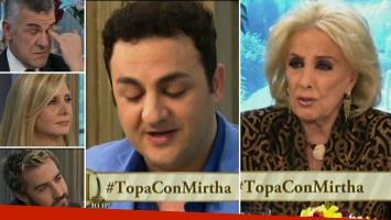 La desgarradora anécdota de Topa en la mesa de Mirtha que emocionó a todos hasta las lágrimas. Foto: captura.