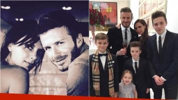 Victoria y David Beckham compartieron su amor con sus seguidores. Foto: Instagram