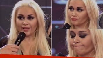 El llanto de Verónica Ojeda en ShowMatch. Foto: Captura