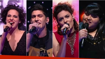 Los finalistas de Elegidos, la música en tus manos. Foto: Captura