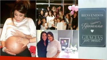 María Fernanda Callejón festejó el baby shower de su hija. Foto: Twitter / Instagram