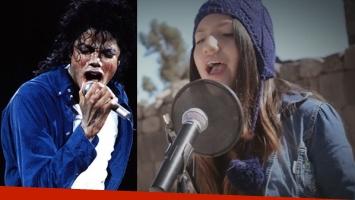 Una joven peruana la rompe en Internet cantando un tema de Michael Jackson... ¡en quechua!