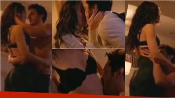 La sensual escena de Natalia Oreiro y Benjamín Vicuña en Entre Caníbales. Foto: Captura