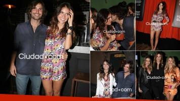Zaira Nara con su novio y amigas. Fotos: Movilpress-Ciudad.com.