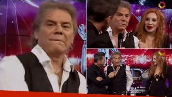 Beto Casella se cruzó con Nacha Guevara en ShowMatch. Foto: Captura
