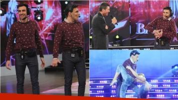Freddy Villareal se convirtió en Federico Hoppe en ShowMatch. Foto: Ideas del Sur