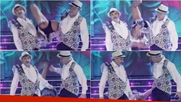 El truco de Freddy Villarreal y Pachano en el Bailando que casi termina en un accidente. Foto: Captura
