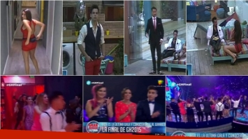 Los looks de los finalistas de Gran Hermano 2015. Fotos: Captura