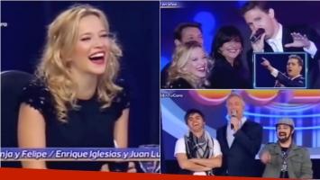 Las divertidas anécdotas de Luisana Lopilato en Tu cara me suena. Foto: Captura
