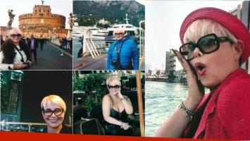 El álbum de vacaciones por Europa de Carmen Barbieri. Foto: Gente
