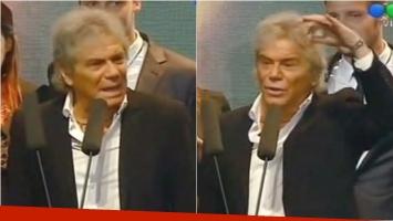El duro discurso de Beto Casella en los Premios Tato 2015. Foto: Captura