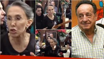 Escándalo en la misa por el aniversario de Chespirito. Foto: Captura/ Web