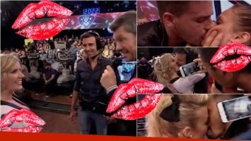 Laurita Fernández y un pedido hot a Federico Hoppe en ShowMatch. Foto: Captura