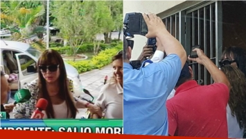 Moria Casán, en libertad: así dejaba la cárcel tras 9 días presa. Foto: Twitter/ Captura