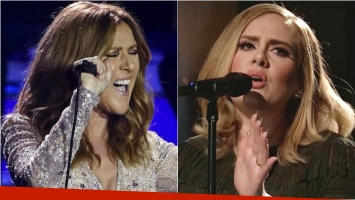 Céline Dion canta Hello de Adele: mirá su increíble versión. Foto: Web