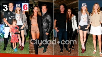 Los famosos en Yellow Rose Polo Ranch. Foto: MSnews