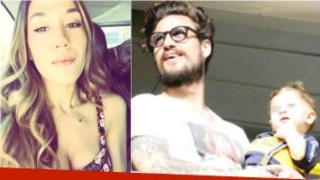 Ana Rosenfeld confirmó que Daniel Osvaldo aún no visitó a su hijo Morrison (Fotos: Web)